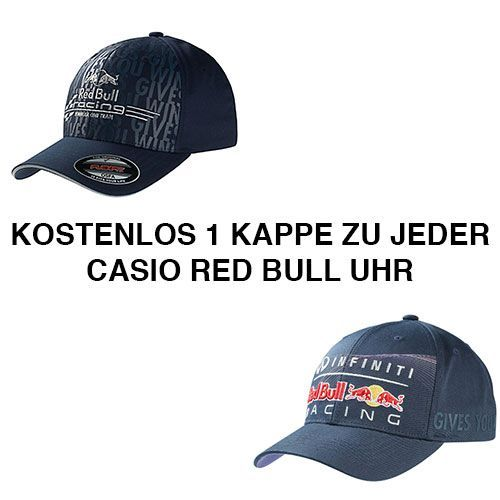 casio red bull uhren bei ella juwelen im onlineshop. Black Bedroom Furniture Sets. Home Design Ideas